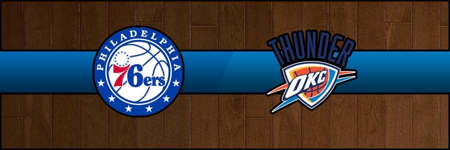 76ers vs Thunder Result Basketball Score