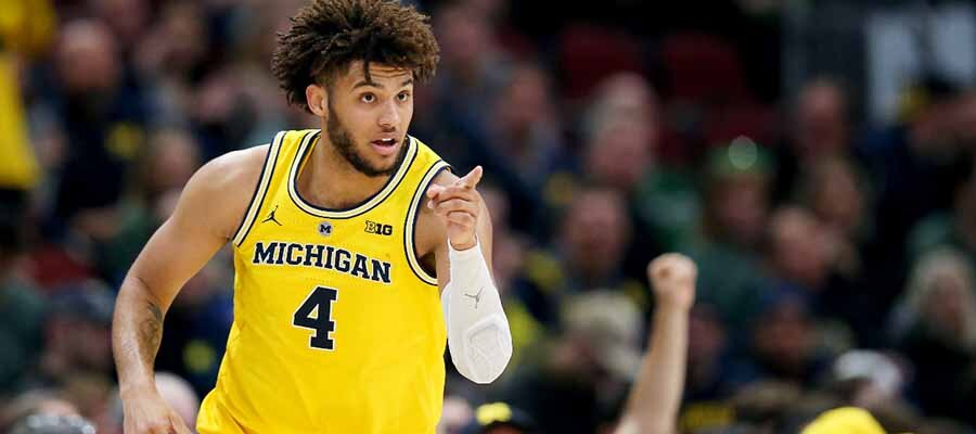 #8 LSU vs. #1 Michigan NCAA Tournament Round of 32
