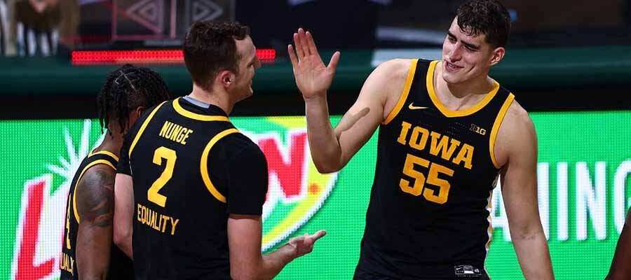 #9 Iowa vs #3 Michigan Road to March Madness