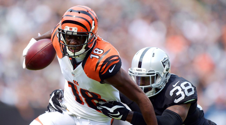 AJ Green vs Raiders