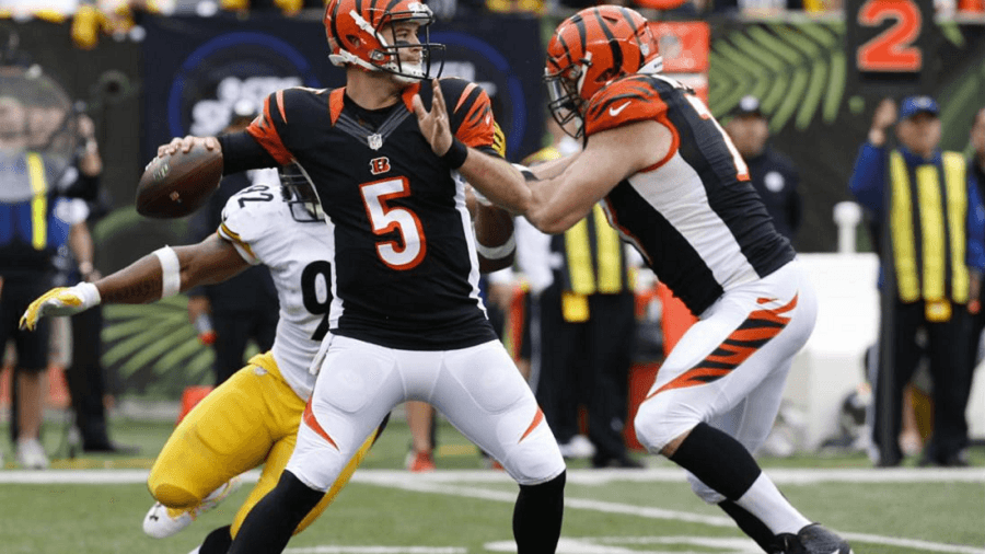 AJ McCarron should be aware that the Bengals playoff hopes are riding on him.