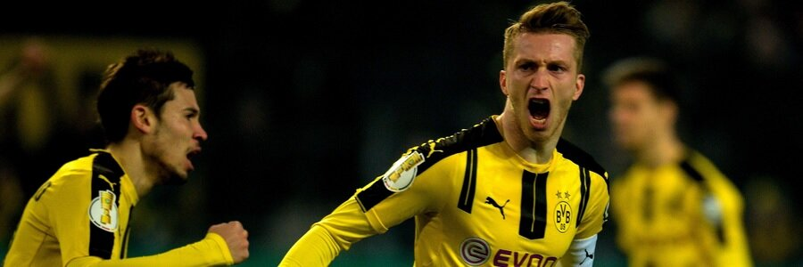 APR 10 - UEFA Winning Favorites Between Borussia Dortmund Vs Monaco