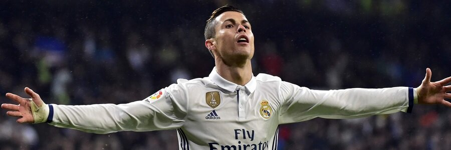 Cristiano Ronaldo and Real Madrid are among the Soccer Betting favorites for this week.