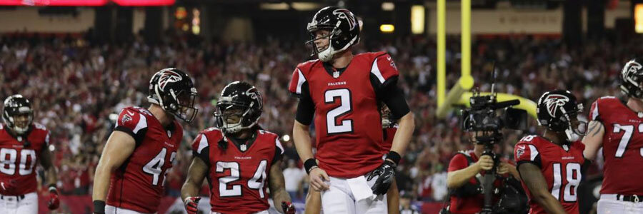 The Falcons are slight favorites for their matchup against the Saints in NFL Week 3.