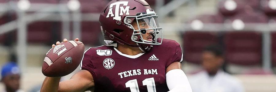 Auburn vs Texas A&M 2019 College Football Week 4 Lines & Expert Pick.