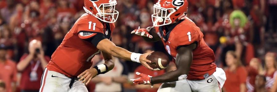 Kentucky vs. Georgia NCAAF Week 12 Betting Odds & Pick.