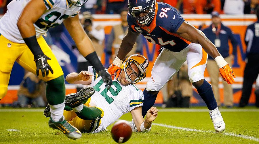 Aaron Rodgers Packers vs Broncos