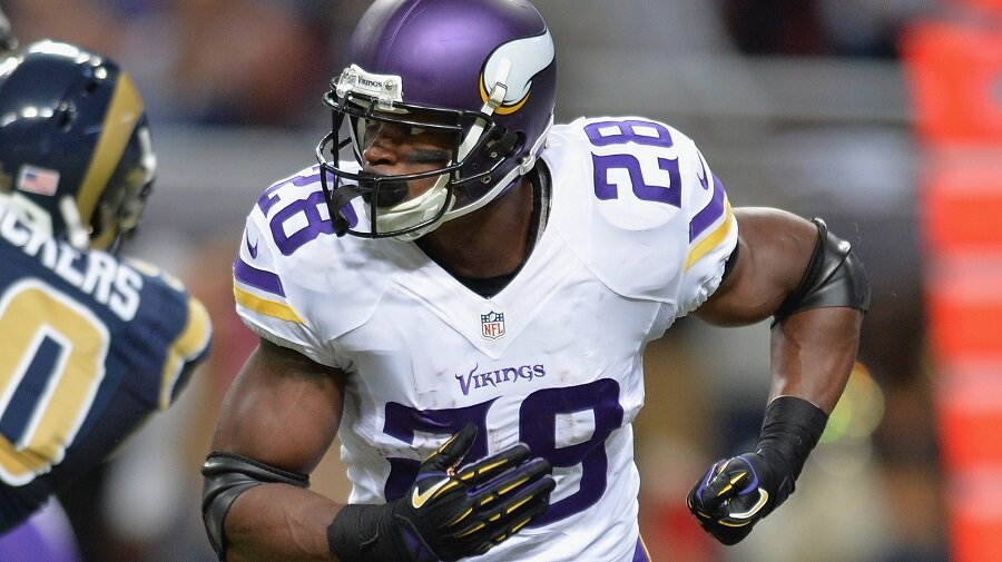 Vikings' star Adrian Peterson faces another suspension during the 2014 season