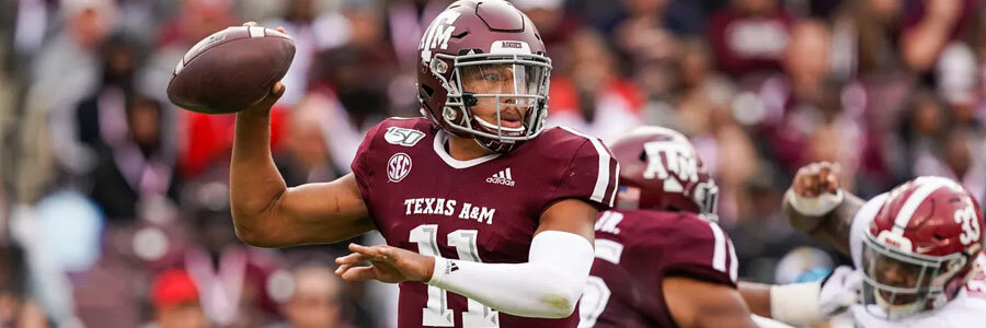 Texas A&M vs LSU 2019 College Football Betting Lines & Analysis.
