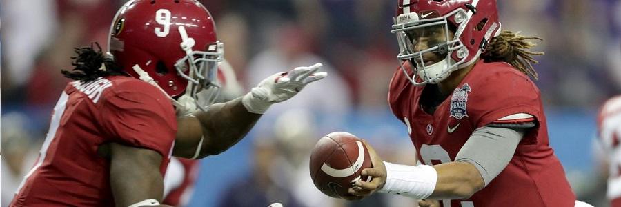 Alabama Crimson Tide 2017 College Football Win Totals