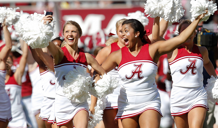 Alabama Crimson Tide Cheerleaders