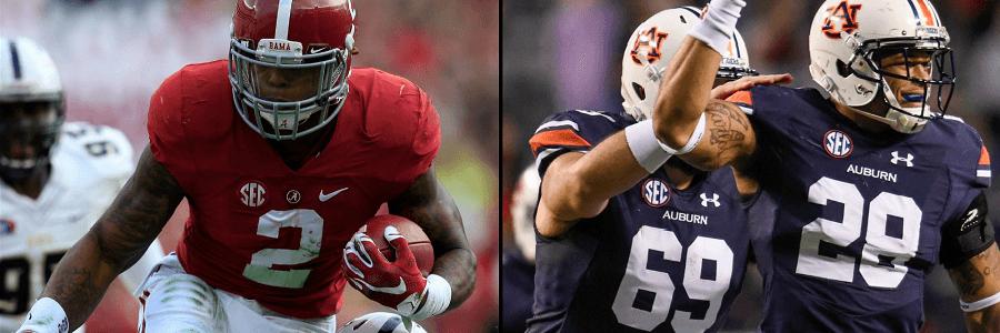 Alabama vs Auburn Iron Bowl NCAA Football Odds Preview