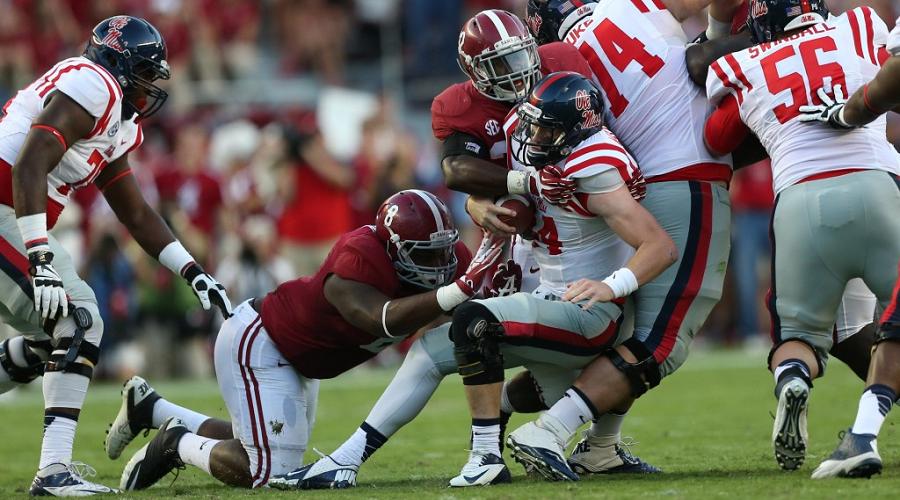 Alabama vs Mississippi College Football Odds Week 3