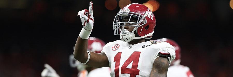 Alabama vs Auburn 2019 College Football Week 14 Odds, Game Info & Pick.