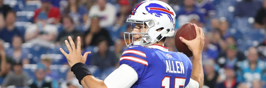 The Bills are favorites against the Eagles in NFL Week 8.
