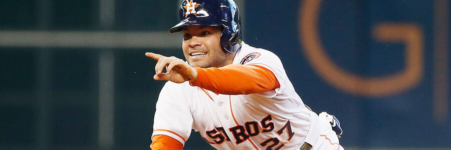 Astros Dominate the MLB Spread for Tuesday Night vs. Mariners.
