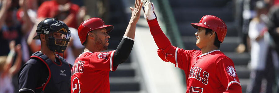The Angels are favorites at the MLB Lines against the Rays.