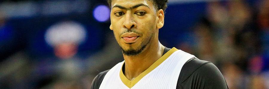 Anthony Davis NOLA Pelicans NBA Lines