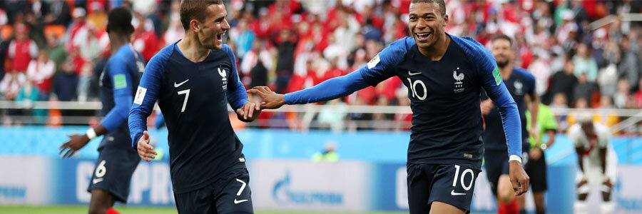 2018 World Cup Round of 16 Betting Preview: France vs Argentina.