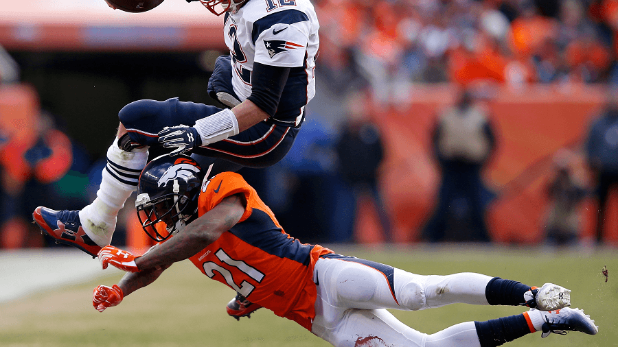 Aquib Talib was key to holding Brady and the Pats down in the AFC Championship.