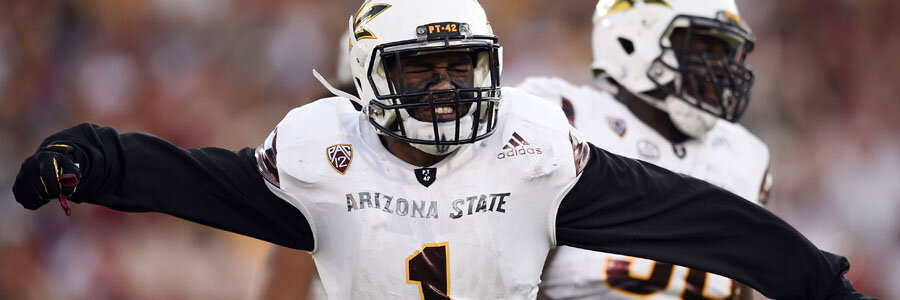 Michigan State vs Arizona State is one of the best games in NCAA Football Week 2.