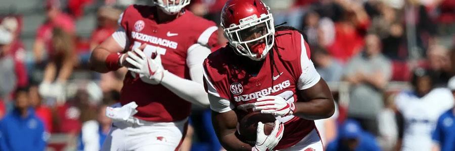 LSU vs Arkansas is one of the best NCAA Football Week 11 games.