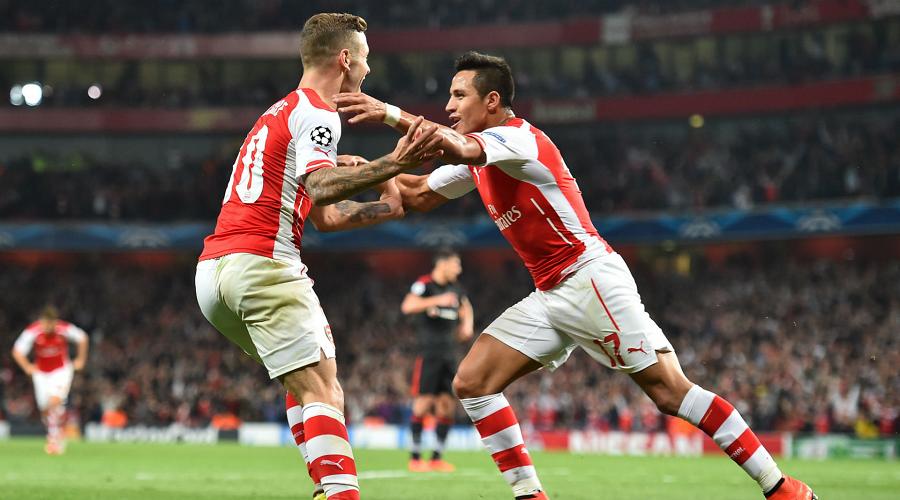 Arsenal FC Goal Celebration