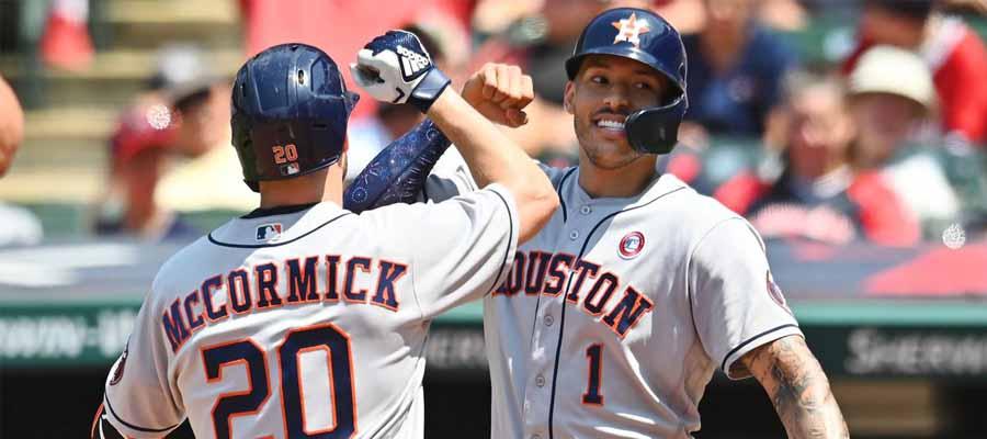 A's vs Astros MLB