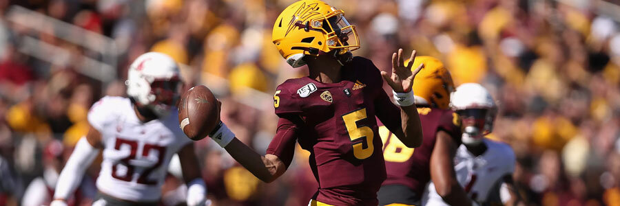 Arizona State vs UCLA 2019 College Football Week 9 Lines & Preview.