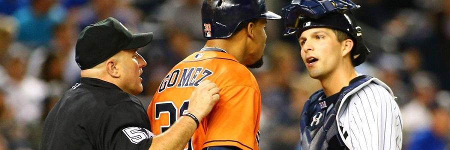 Astros vs Yankees MLB Odds
