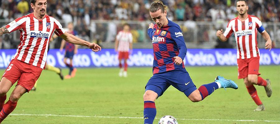 Atletico Vs Barcelona LaLiga Matchday 33