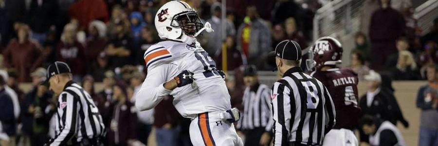 Georgia @ Auburn College Football Odds Preview