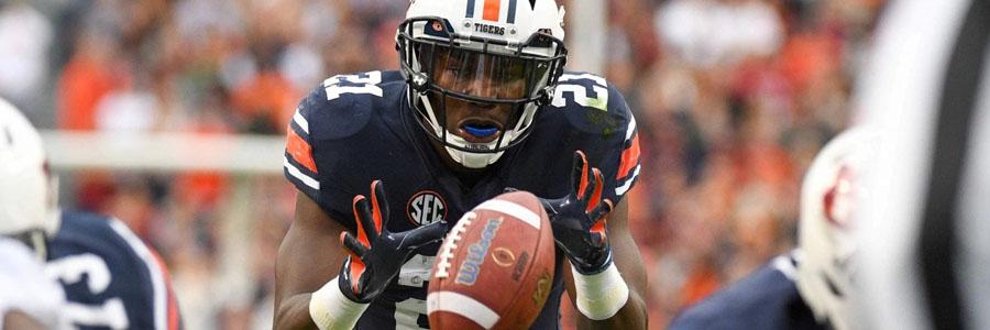 2017 Peach Bowl Betting Prediction: UCF Knights vs. Auburn Tigers