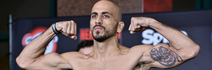 Saad Awad is one of the favorites for Bellator 229.