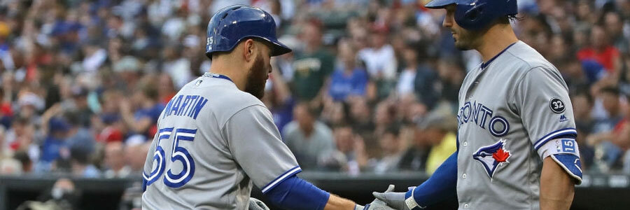 The Blue Jays shouldn't be one of your MLB Betting picks of the week.