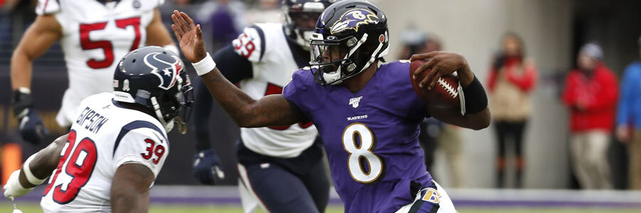 Ravens vs Rams 2019 NFL Week 12 Lines & Pick for Monday Night.