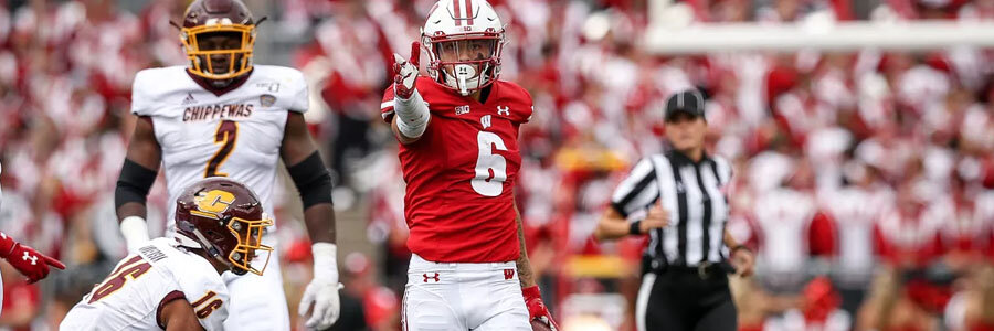 The Badgers should be one of your College Football Week 4 betting picks.