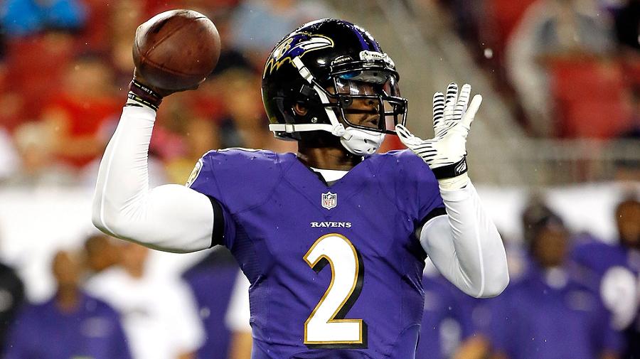 Tyrod Taylor Baltimore Ravens