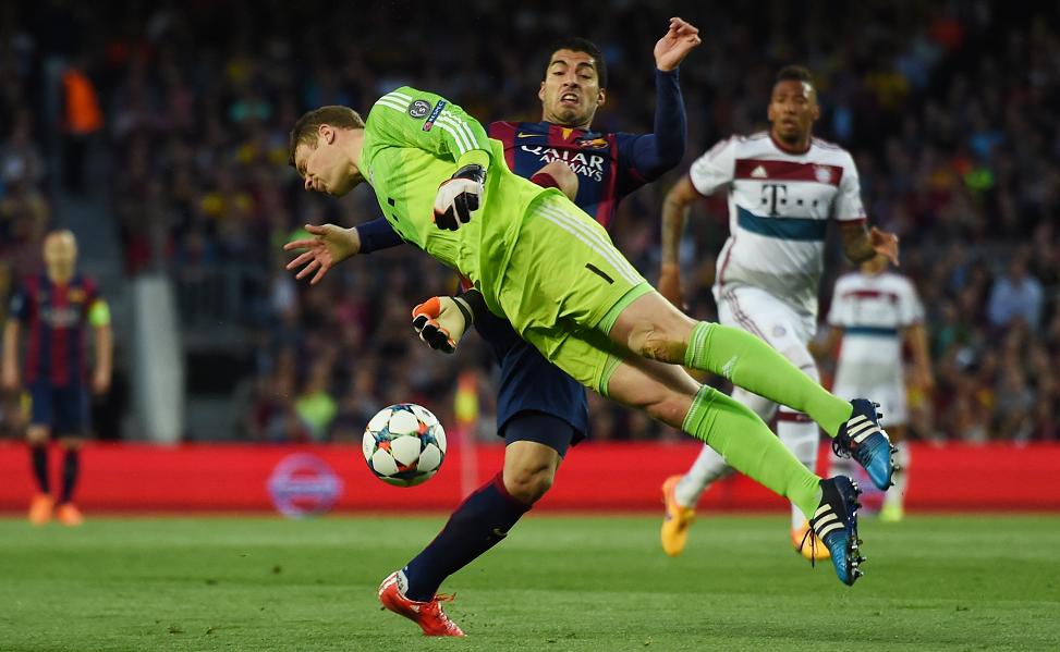 Barcelona vs Bayern 2015