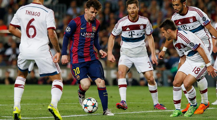 Barcelona vs Bayern Munich 2014