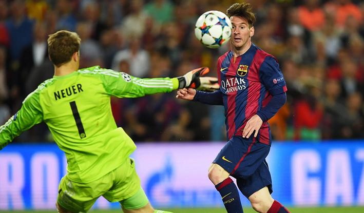 Barcelona vs Bayern UEFA 2015