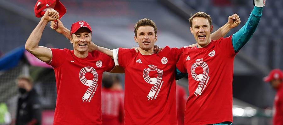 Bayern Munich Crowned As the 2020-21 Bundesliga Champion