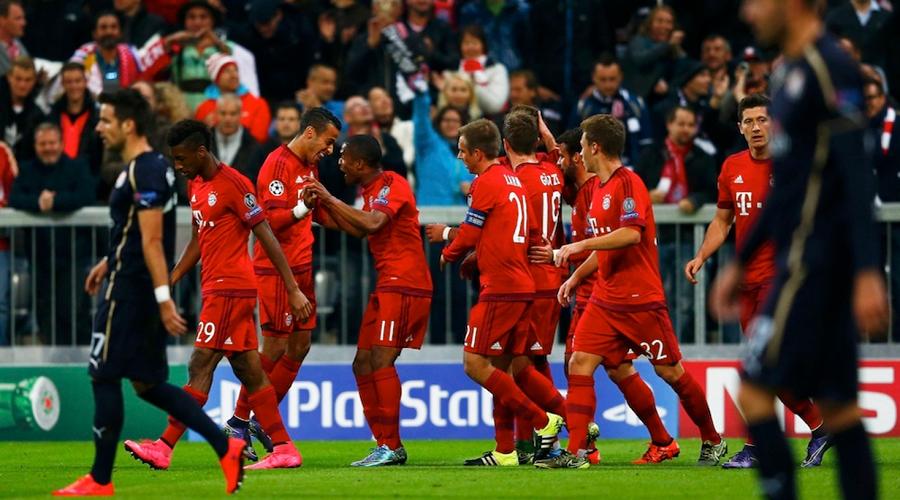 Bayern Munich vs Dinamo Zagreb