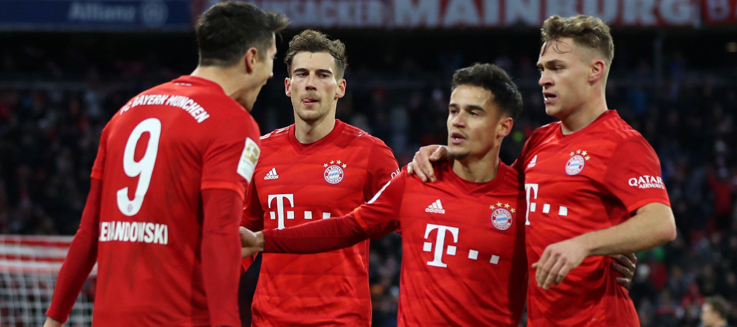 Bayern Vs Werder Bremen Bundesliga Matchday 32