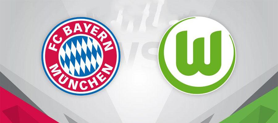 Bayern Vs Wolfsburg Bundesliga Matchday 34