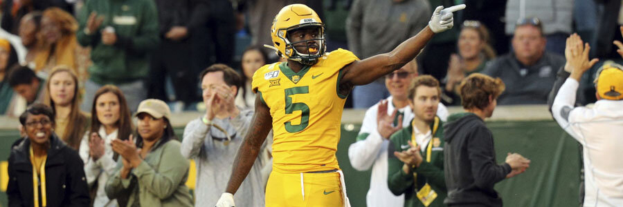 Baylor vs Kansas 2019 College Football Week 14 Odds, Game Info & Pick.