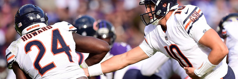 The NFL Week 7 Betting Lines are not good for the Bears.