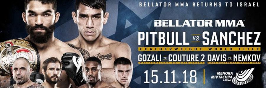 Bellator 209 Odds & Expert Picks for Thursday Night at Israel.