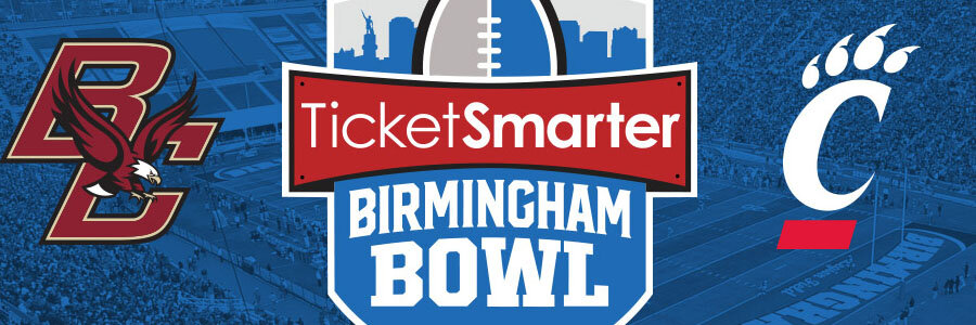 Boston College vs Cincinnati 2019 Birmingham Bowl Odds, Preview & Pick.
