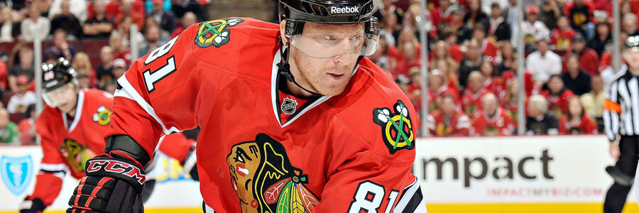 The Blackhawks are favored by the NHL Spread against the Jets.